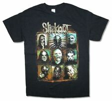 Slipknot Rusted Frame Summer's Last Stand 2015 Tour Black T Shirt New Official