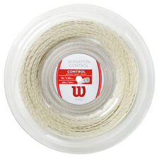 WILSON SENSATION CONTROL 1,30 mm 16 Tennis Stringhe 200m REEL