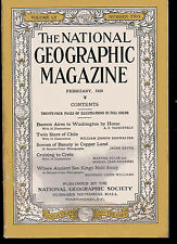 National Geographic Dec 1928, Buenos Aires to Washington by Horse, Chile