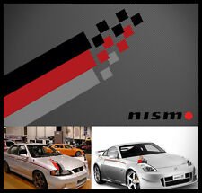 Nismo hood decal sticker hood kit #5 brand new UNIVERSAL KIT