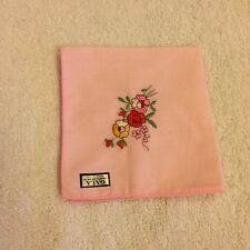 Ladies Embroidered Handkerchiefs ( pack of 4 )
