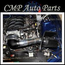 BLACK HEATSHIELD AIR INTAKE KIT FIT 2005-2009 MUSTANG GT 4.6 4.6L V8 ENGINE