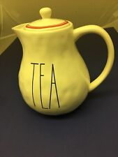 Rae Dunn Boutique Red Line Teapot Large Letter (New Release) Rare & HTF - NEW!!!