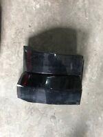 Opel Zafira A BJ2003 Plastikblenden Blende Rückleuchte links 90580803 Schwarz