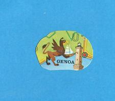 PANINI CALCIATORI 1975-76-Figurina n.327- GENOA - sagomata -Recuperata