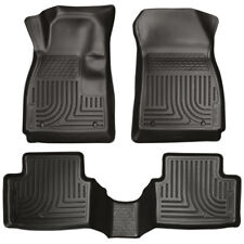11-18 Ford Fiesta Husky Liners WeatherBeater 3pc All Weather Floor Mats 98751
