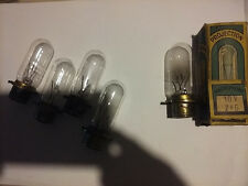 16mm HORTSON MOVIE PROJECTOR EXCITER LAMPS 10 VOLTS 7.5 AMPS ORIGINAL LOT OF 5