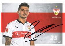 Autogrammkarte 17/18 Matthias Zimmermann VfB Stuttgart AK Trikot 2017/18 Fürth