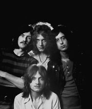Led Zeppelin UNSIGNED photograph - G198 - Jimmy Page, Robert Plant & John Bonham
