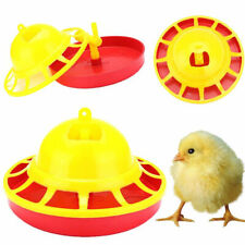 New Chicken Feeder Drinker Poultry Chick Hen Quail Bantam Food Water Farm Tool