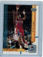 2001-02 UPPER DECK JERRY STACKHOUSE #428 ROOKIE RETRO SP