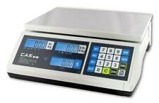 CAS ERJR Price Computing Scale 30 Lb by 0.005 lb, NTEP,Legal for Trade, LCD