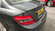 REAR BOOT SPOILER - MERCEDES C-CLASS W204 (PRIMED)