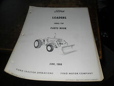 Ford Tractor Loader Series 730 Parts Catalog Book June 1968  PA-9369-A