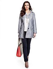 Per Una Patternless Button Raincoats for Women