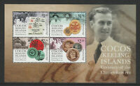 Cocos (Keeling) Islands 2020 : Currency of the Clunies - Ross Era. Minisheet.MNH