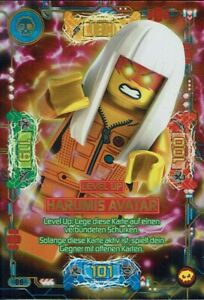 Lego ninjago Series 5 - Next Level - Card TCG No. 86 Level Up Harumis Avatar