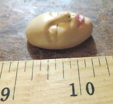 polymer mold small face female use with dolls from Lori Barbee original design