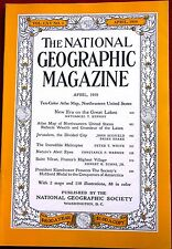 NATIONAL GEOGRAPHIC MAGAZINE ~ APRIL 1959