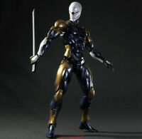 Play Arts Kai Metal Gear Solid Cyborg Ninja Gray Fox Action Figure Collect New