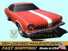 1973 GM Oldsmobile 442 W29 Paint Stencil Decals Stripes Kit Y73 Hood (non-AI)