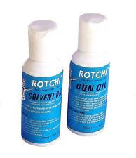Maverick hunting premium gun oil & solvent  50ml bottles Rotchi Rifle shotgun