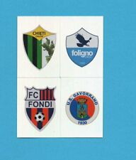 PANINI CALCIATORI 2012-2013-Figurina n.706- CHIETI+FOLIGNO+FONDI+..-SCUDETTO-NEW