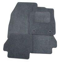 Perfect Fit Grey Carpet Interior Car Floor Mats for Volvo V70 (00-07) - Heel Pad