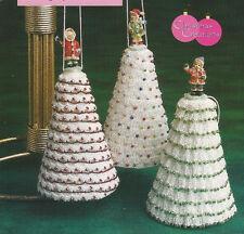Crochet Pattern ~ CHRISTMAS TREE ORNAMENTS ~ Instructions