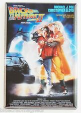 Back to the Future 2 Fridge Magnet (2.5 x 3.5 inches) movie poster michael j fox