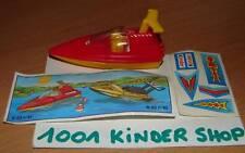 KINDER K03 N°41 RENNBOTE BATEAU + BPZ + STICKERS