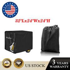 Waterproof Large Generator Cover L Black For Most Generators 5000 10000 Watt