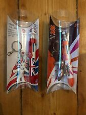 Olympic London 2012 Wenlock Pride The Lion Pen And Key Ring Set Team GB New