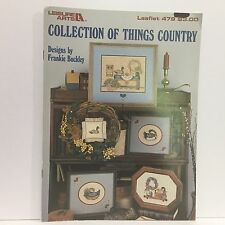 Collection of Things Country Duck Decoys Frankie Buckley Cross Stitch Pattern