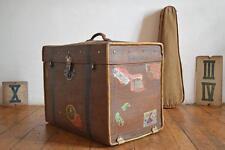 Koffer weit gereist Alt Vintage Antik Damenkoffer Mädler Deko Reisekoffer Kiste