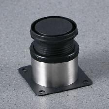 Möbelfuß 4er-Set silber Aluminium Möbelfüße Sockelfuß Sockelfüße M8 Tischfuß