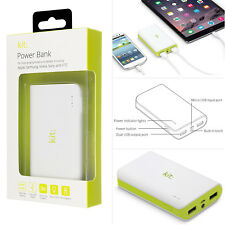 Original kit 6000mah Portátil USB dual luz Led smartphone cargador Powerbank GB