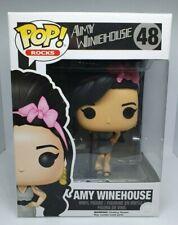 Funko Pop Rocks #48 Amy Winehouse Vaulted Rare + Box Protector