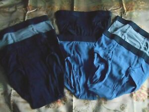 HANES ULTIMATE TAGLESS BRIEFS 2PACK   EXTRA LARGE   MIXED ''BLUES''