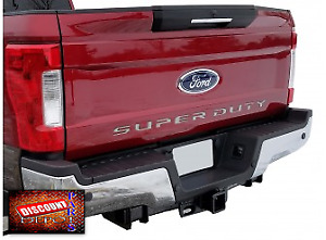 2017- 2020 F-250 F-350 F-450  Super Duty Tailgate Letters BLACK Chrome