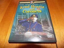Kind Hearts And Coronets Alec Guinness Joan Greenwood Ealing Studio Classic Dvd