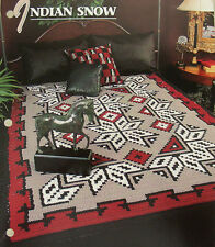 Indian Snow Afghan ~ Native American Inspired ~ Annie's Crochet Pattern