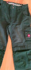 Engelbert Strauss Worker-Jeans Arbeitshose Bundhose Gr:46 Flex - Bund