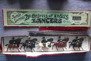"""Britains Toy Lead Soldiers Set no.100 21st Empress of India Lancers """"Khartoum"""""""