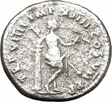 TITUS 80AD Venus Goddess of Love Authentic Ancient Silver Roman Coin i43290