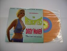"HELLACOPTERS - DIRTY WOMEN - VERY RARE 7"" ORANGE VINYL LIKE NEW 1999"