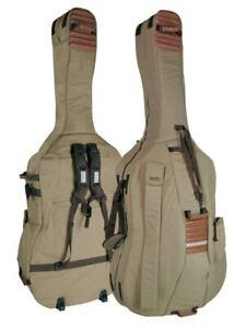 Kontrabasstasche Tasche für Kontrabass 4/4 CB-544 beige-braun Sonderpreis