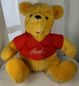 "Disneyland Walt Disney World Winnie the Pooh Bear 13"" Plush Stuffed Animal Parks"
