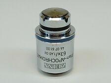 Zeiss Plan Apochromat 63x140 017 Oil Ph3 Microscope Objective