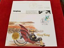 Numisbrief Hongkong 2003 Münze 10 Cent 1998 Sammler Münz Briefe Welt Top RAR